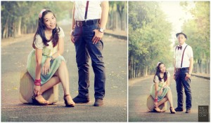 Foto Prewedding Unik Outdoor by Thotopotomoto Photography