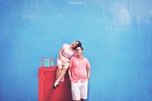 Prewedding di Singapore