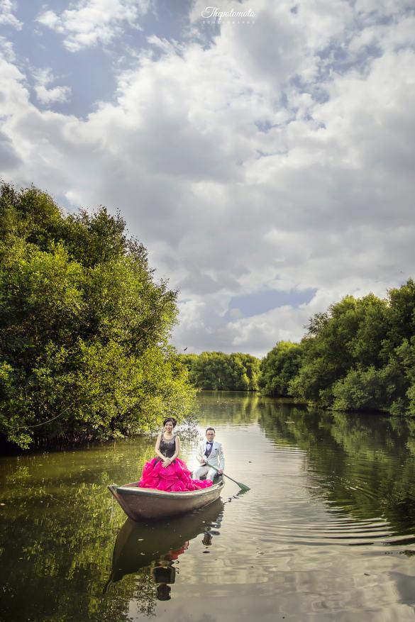 Prewedding hutan mangrove PIK by Thepotomoto Photography