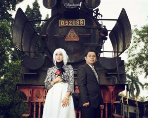 Foto Indahnya Foto Prewedding Muslimah by Thepotomoto Photography