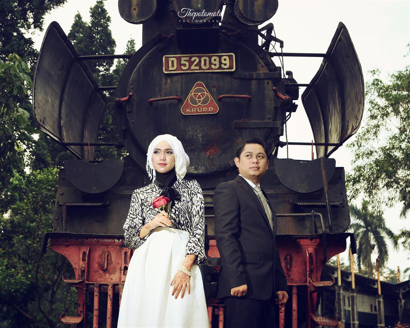 Prewed Romantis Hijab 67