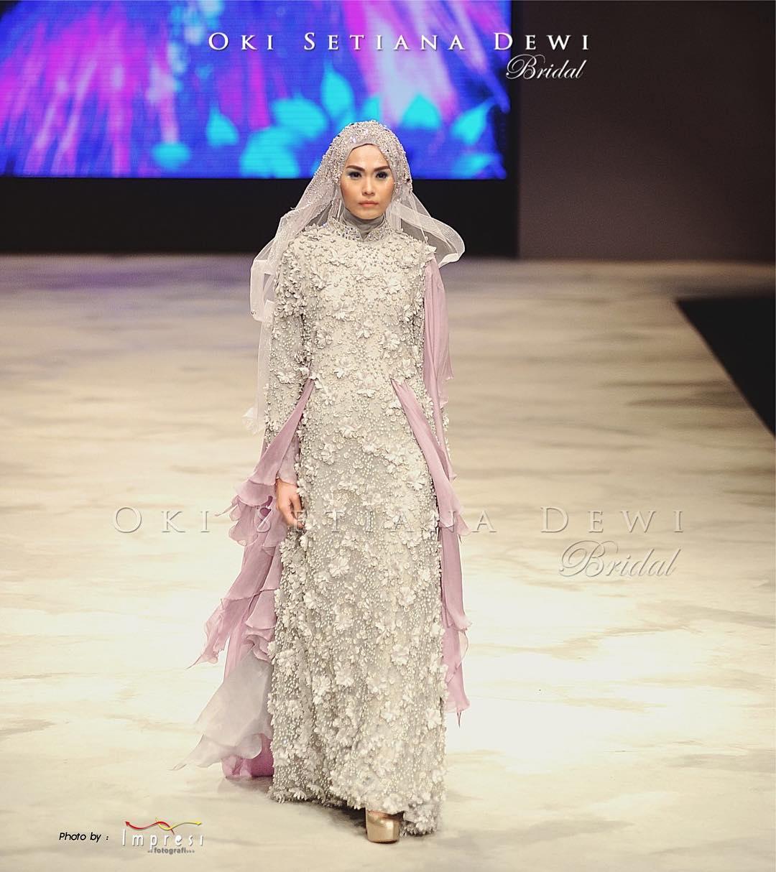 Tren Model Baju Pengantin Hijab 2016