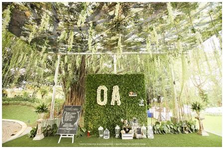 dekorasi wedding outdoor konsep tema rustic