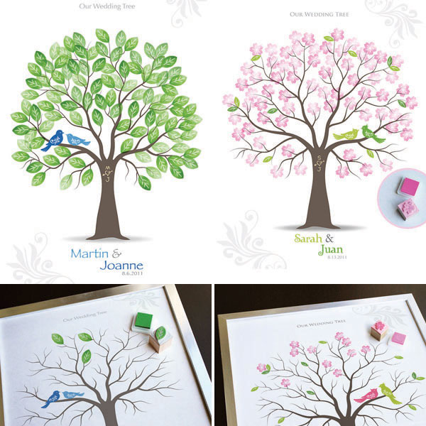 Inspirasi Unik Wedding Guest Book