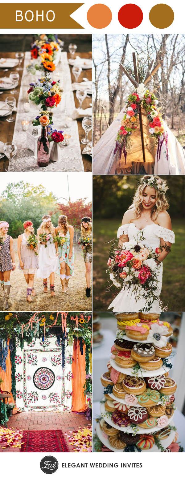 6 Tren Warna Dan Tema Pernikahan Outdoor 2017